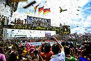 #2 Audi Sport Joest driven by Fässler, Tréluyer and Lotterer wins the 24 hours of Le Mans, June 16-17, 2012.
