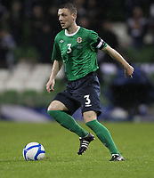 Football - Carling Nations Cup - Scotland v Northern Ireland<br /> Chris Baird of Nothern Ireland in action during the Scotland v Northern Ireland Carling Nations Cup at The Aviva Stadium