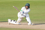 Hassan Azad batting during the Specsavers County Champ Div 2 match between Durham County Cricket Club and Leicestershire County Cricket Club at the Emirates Durham ICG Ground, Chester-le-Street, United Kingdom on 20 August 2019.