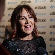 London,England,UK. 27th April 2017. Arlene Phillips attend the LGBT magazine honours Bachelors of the Year at Café de Paris. by See Li
