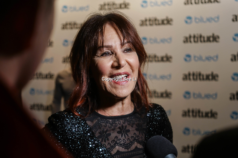 London,England,UK. 27th April 2017. Arlene Phillips attend the LGBT magazine honours Bachelors of the Year at Café de Paris. by See Li