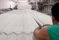 "Fabrica da Pedra, industria textil, fundada por Delmiro Gouveia em 1914 hoje pertencente ao Grupo Carlos Lyra.  A economia da cidade gira em torno da fabrica /   ""Fabrica da Pedra"" was the first industrial zone of the Brazilian Northeast and to build the first textile plant in the arid 'sertão' region of Alagoas. On June 5th, 1914,  Cia. Agro Fabril Mercantil launched its operations in the village of Vila da Pedra, currently known as Delmiro Gouveia. In 1992, the Carlos Lyra Group, assumed the control of the plant..Foto Marcos Issa"