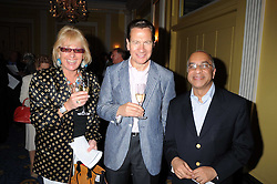 Left to right, CAROL THATCHER, MICHAEL PORTILLO and MR RUMI VERJEE at a party to celebrate the publication of Gemma Levine's book Mayfair, held at Claridge's, Brook Street, London on 16th June 2008.<br /><br />NON EXCLUSIVE - WORLD RIGHTS