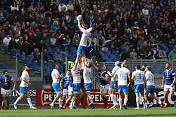 March 16, 2019 - Rome, RM, Italy - Federico Ruzza of Italy during the Six Nations International Rugby Union match between Italy and France at Stadio Olimpico on March 16, 2019 in Rome, Italy. (Credit Image: © Danilo Di Giovanni/NurPhoto via ZUMA Press)