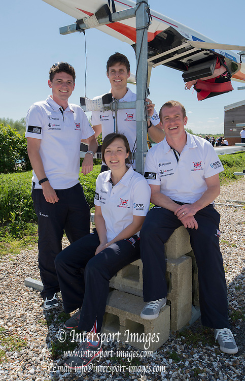 """Caversham. Reading. """"The Science Team"""". GBRowing  European Team Announcement, GB Training Base Reading. 13.05.2015. Wednesday. [Mandatory Credit: Peter Spurrier/Intersport-images.com"""