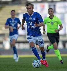 Frederik Gytkjær (Lyngby Boldklub) under kampen i 3F Superligaen mellem Lyngby Boldklub og FC København den 1. juni 2020 på Lyngby Stadion (Foto: Claus Birch).