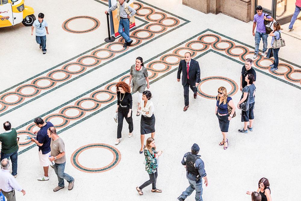 25 JUN 2010 - Roma - Mara Carfagna, Ministro per le Pari Opportunità, nella Galleria Alberto Sordi - Rome (Italy) - Mara Carfagna, italian Minister for Equal Opportunities