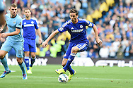 Nemanja Matic of Chelsea in action .Barclays premier league match, Manchester city v Chelsea at the Etihad stadium in Manchester,Lancs on Sunday 21st Sept 2014<br /> pic by Andrew Orchard, Andrew Orchard sports photography.
