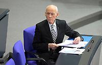 DEU, Deutschland, Germany, Berlin, 27.01.2021: Wilhelm von Gottberg (AfD) in der Plenarsitzung im Deutschen Bundestag.