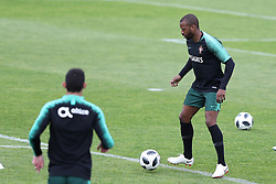 May 30, 2018 - Oeiras, Portugal - Portugal's midfielder Manuel Fernandes in action during a training session at Cidade do Futebol (Football City) training camp in Oeiras, outskirts of Lisbon, on May 30, 2018, ahead of the FIFA World Cup Russia 2018 preparation matches against Belgium and Algeria...........during the Portuguese League football match Sporting CP vs Vitoria Guimaraes at Alvadade stadium in Lisbon on March 5, 2017. Photo: Pedro Fiuzaduring the Portugal Cup Final football match CD Aves vs Sporting CP at the Jamor stadium in Oeiras, outskirts of Lisbon, on May 20, 2015. (Credit Image: © Pedro Fiuza via ZUMA Wire)