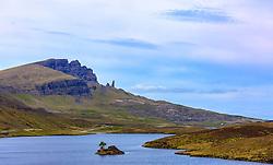 THEMENBILD - Blick auf den Old Man of Storr, Isle of Skye, Schottland, aufgenommen am 11. Juni 2015 // View of the Old Man of Storr, Isle of Skye, Scotland on 2015/06/11. EXPA Pictures © 2015, PhotoCredit: EXPA/ JFK