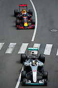 May 25-29, 2016: Monaco Grand Prix. Lewis Hamilton (GBR), Mercedes, Daniel Ricciardo (AUS), Red Bull