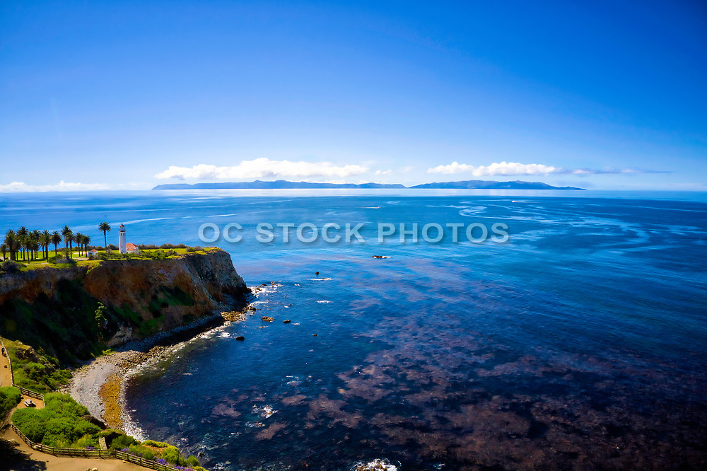 Palos Verdes Peninsula with Catalina Island in the Distance
