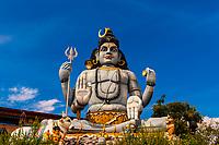Statue of Shiva, Koneswaram temple is a classical-medieval Hindu temple dedicated to Lord Shiva in Trincomalee, Eastern Sri Lanka.