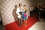Mickey Rourke; Thandie Newton , The Elle Style Awards 2009, The Big Sky Studios, Caledonian Road. London. February 9 2009.