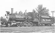 RD099 D&RGW C-18 No. 318