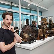 London, UK. 26th June 2017. Artist Marcin Rusak - Nature of Thing PHOTOCALL at Jerwood Makers Open 2017 for  the sixth edition of Jerwood Makers Open at Jerwood Space, London.