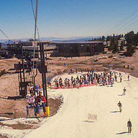 Fourth of July Skiing at Mammoth Mountain, CA