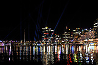 Sydney Water front at Night for Vivid Sydney