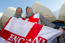England fans enjoy prior to the 2010 FIFA World Cup South Africa Group C Third Round match between Slovenia and England on June 23, 2010 at Nelson Mandela Bay Stadium, Port Elizabeth, South Africa.  (Photo by Vid Ponikvar / Sportida)