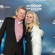 NLD/Zaandam/20190128- première musical Op Hoop van Zegen, Marga Scheide en partner Michiel Gunning