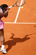 Roland Garros. Paris, France. May 31st 2007..2nd Round..Serena WILLIAMS against Milagros SEQUERA.