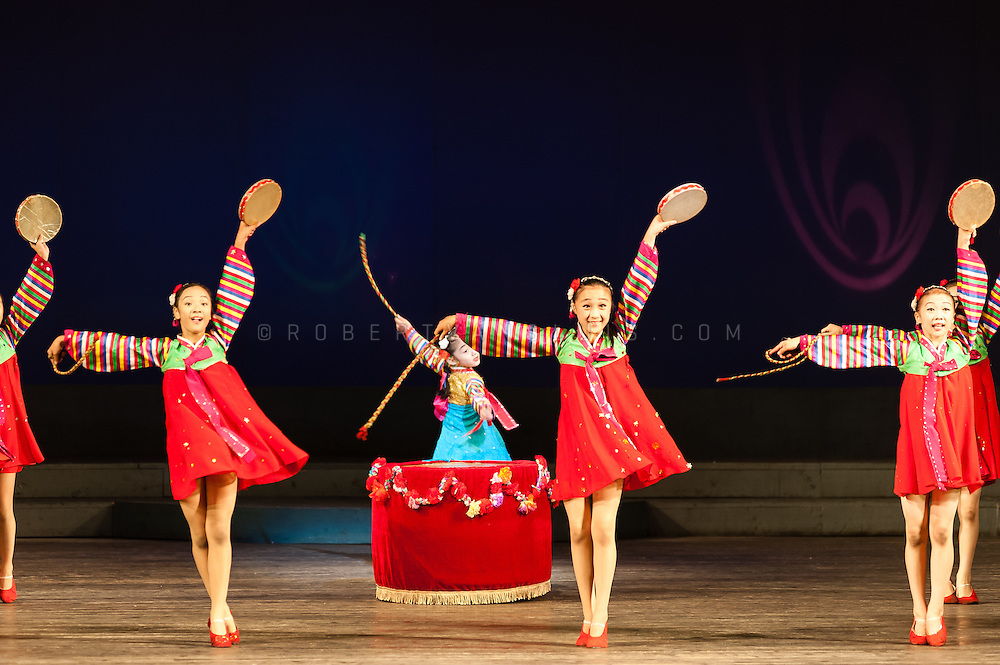 Performance at the Students and Children's Palace, Pyongyang, DPRK (North Korea)