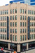 View of downtown Milwaukee, Wisconsin, USA.