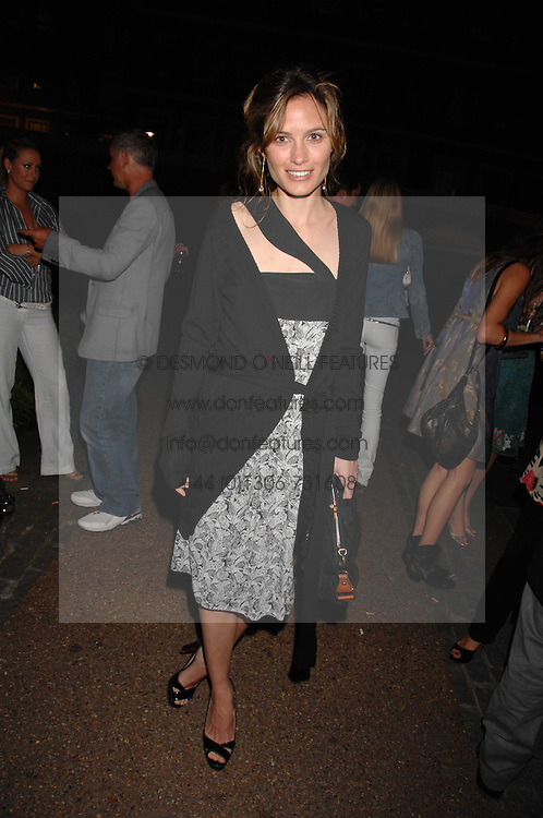 SHEHERAZADE GOLDSMITH at the Quintessentially Summer Party at the Wallace Collection, Manchester Square, London on 6th June 2007.<br /><br />NON EXCLUSIVE - WORLD RIGHTS