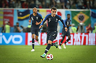 Antoine Griezmann of France during the 2018 FIFA World Cup Russia, Semi Final football match between France and Belgium on July 10, 2018 at Saint Petersburg Stadium in Saint Petersburg, Russia - Photo Thiago Bernardes / FramePhoto / ProSportsImages / DPPI