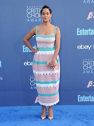 Tracee Ellis Ross  bei der Verleihung der 22. Critics' Choice Awards in Los Angeles / 111216