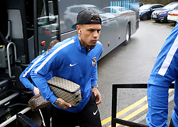 Coventry City's new signing Jonson Clarke-Harris arrives at The New Lawn