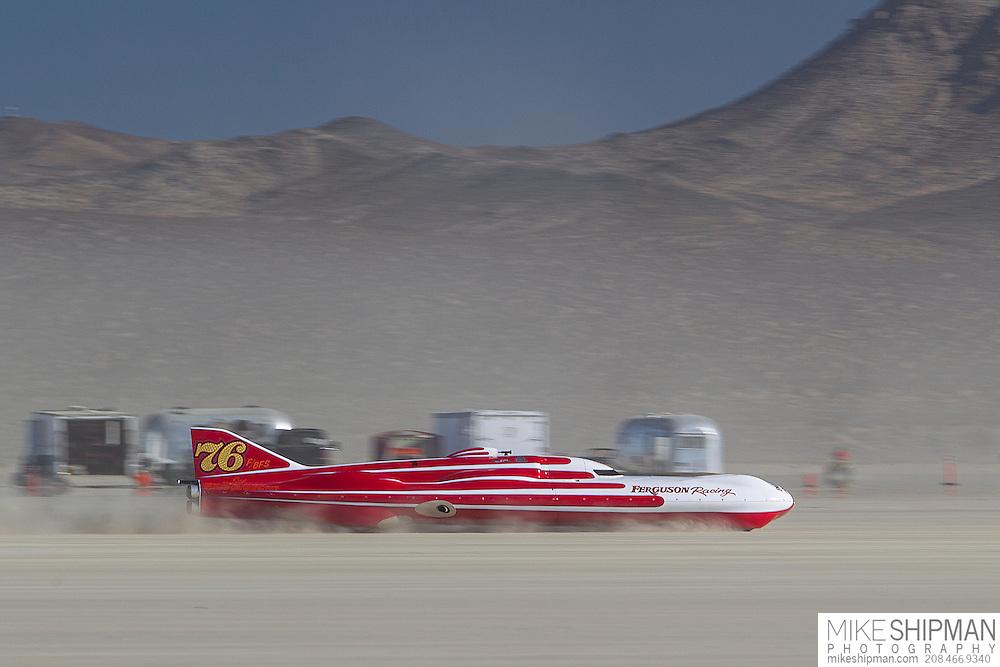 Ferguson - Macmillan, 76, eng F, body BGS, driver Don Ferguson III, 269.147 mph, previous record 243.183