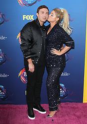 Fox Teen Choice Awards 2018. 12 Aug 2018 Pictured: Meghan Trainor, Daryl Sabara. Photo credit: Jaxon / MEGA TheMegaAgency.com +1 888 505 6342