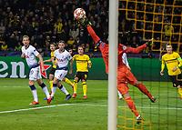 Football - 2018 / 2019 UEFA Champions League - Round of Sixteen, Second Leg: Borussia Dortmund (0) vs. Tottenham Hotspur (3)<br /> <br /> <br /> at Signal Iduna Park (Westfalenstadion).<br /> <br /> COLORSPORT/DANIEL BEARHAM