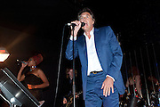 BRYAN FERRY, Prada Congo Benefit party. Double Club. Torrens Place. Angel. London. 2 July 2009.