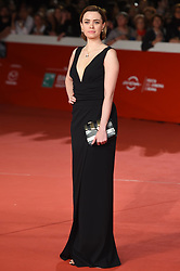 Natalie Rabdi Gomez during the red carpet for The House With A Clock in its Walls premiere at the Rome Film Fest on October 19, 2018