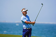Soren Kjeldsen (DEN) on the 9th during Round 3 of the Oman Open 2020 at the Al Mouj Golf Club, Muscat, Oman . 29/02/2020<br /> Picture: Golffile | Thos Caffrey<br /> <br /> <br /> All photo usage must carry mandatory copyright credit (© Golffile | Thos Caffrey)