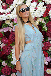 Eva Longoria, Floyd Mayweather, Paris Hilton, Chris Zylka attending Philipp Plein Cruise Show 2018 red carpet arrivals The 70th Annual Cannes Film Festival. 24 May 2017 Pictured: Paris Hilton. Photo credit: kilmax / MEGA TheMegaAgency.com +1 888 505 6342
