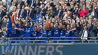 Football - 2018 FA Cup Final - Chelsea vs. Manchester United<br /> <br /> Chelsea Players lift the FA Cup at Wembley Stadium.<br /> <br /> COLORSPORT/DANIEL BEARHAM