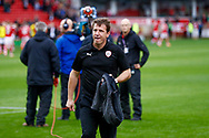 Barnsley Manager Daniel Stendel  during the EFL Sky Bet League 1 match between Barnsley and Luton Town at Oakwell, Barnsley, England on 13 October 2018.