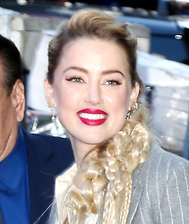 Amber Heard visits Good Morning America in New York. 05 Dec 2018 Pictured: Amber Heard. Photo credit: ENT24/MEGA TheMegaAgency.com +1 888 505 6342