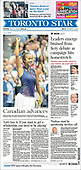 September 10, 2021 - CANADA: Front-page: Today's Newspapers In Canada