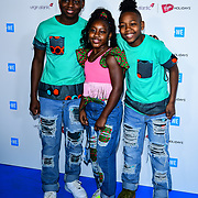 Princess K, Omarion,Demari Arrives at 2020 WE Day UK at Wembley Arena, London, Uk 4