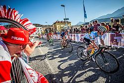 VERSCHAEVE Viktor of Belgium during the Men Under 23 Road Race 179.9km Race from Kufstein to Innsbruck 582m at the 91st UCI Road World Championships 2018 / RR / RWC / on September 28, 2018 in Innsbruck, Austria.  Photo by Vid Ponikvar / Sportida
