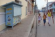 Street in Bayamo, Granma, Cuba.