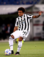 BOLOGNA, ITALY - MAY 23: Weston McKennie of Juventus FC in action ,during the Serie A match between Bologna FC and Juventus FC at Stadio Renato Dall'Ara on May 23, 2021 in Bologna, Italy.(Photo by MB Media/Getty Images)