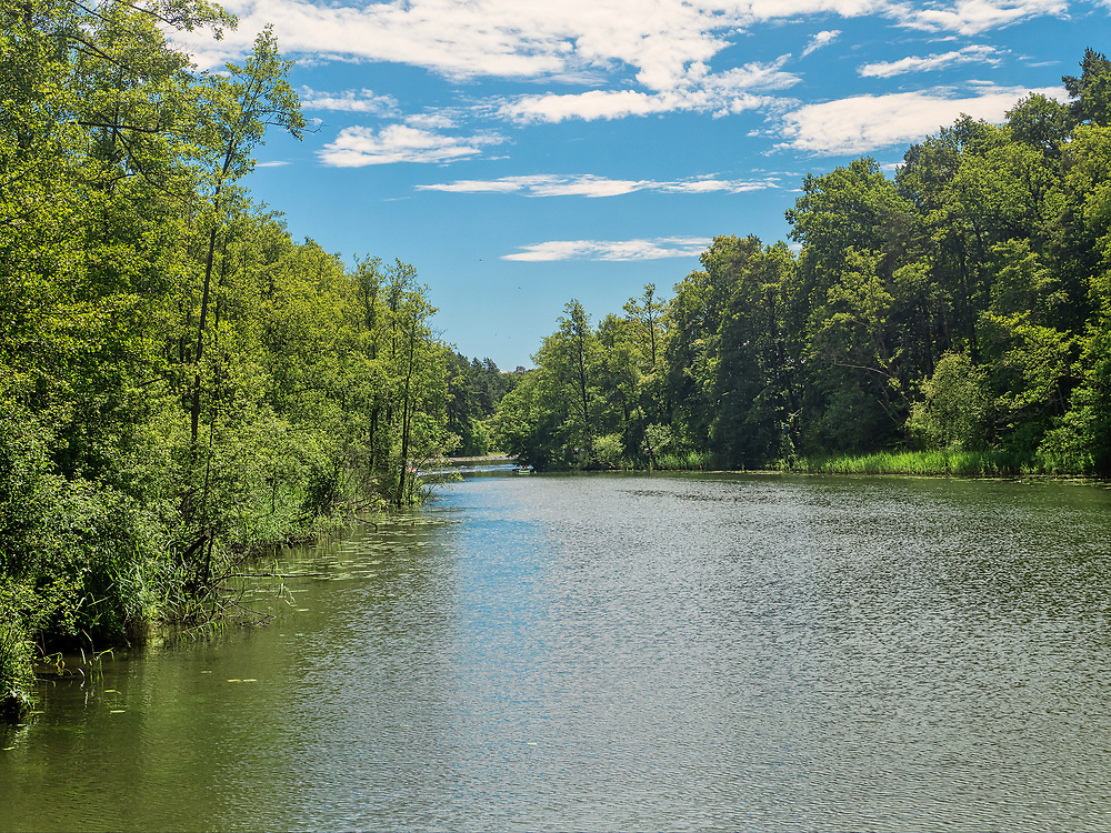 Klonownica(Cicha Rzeczka) – rzeka leżąca na granicyAugustowa łącząca jezioraNeckoiBiałe Augustowskie. Uważana jest za najkrótszą rzekę wPolsce. Jest częścią szlaku Kanału Augustowskiego.