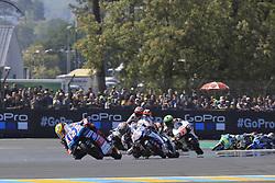 May 20, 2018 - Le Mans, France - 12 MARCO BEZZECCHI (ITA) PRUESTELGP (GER) KTM RC250GP (Credit Image: © Panoramic via ZUMA Press)