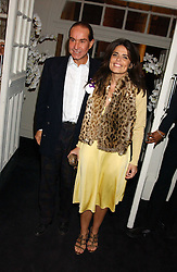 DANIELLA HELAYEL and  at a party to celebrate the Stella McCartney's unique collaboration with fashion store H&M at St.Olavs, Tooley Street, London SE1 on 25th October 2005.<br />